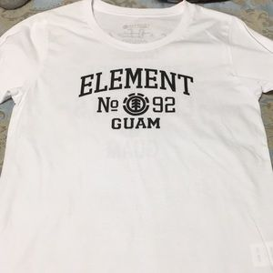 Element Guam Tshirt NWOT